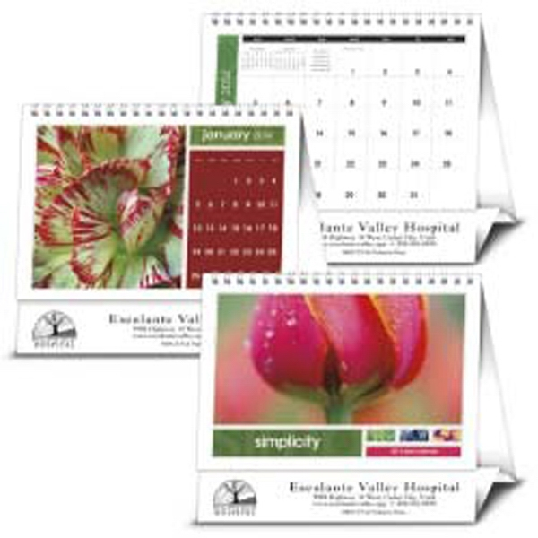 Simplicity - Simply A Beautiful 2015 Desk Calendar That Customers Will Keep Nearby Photo