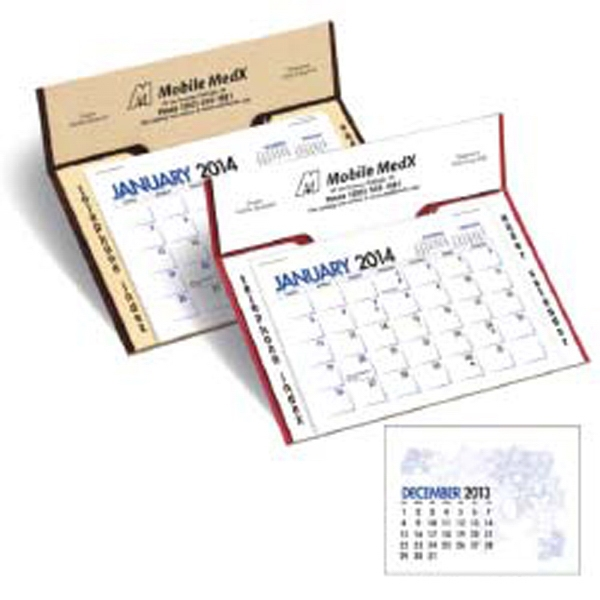 2015 Memo Desk Calendar That Offers Outstanding Value And Ad Visibility Photo
