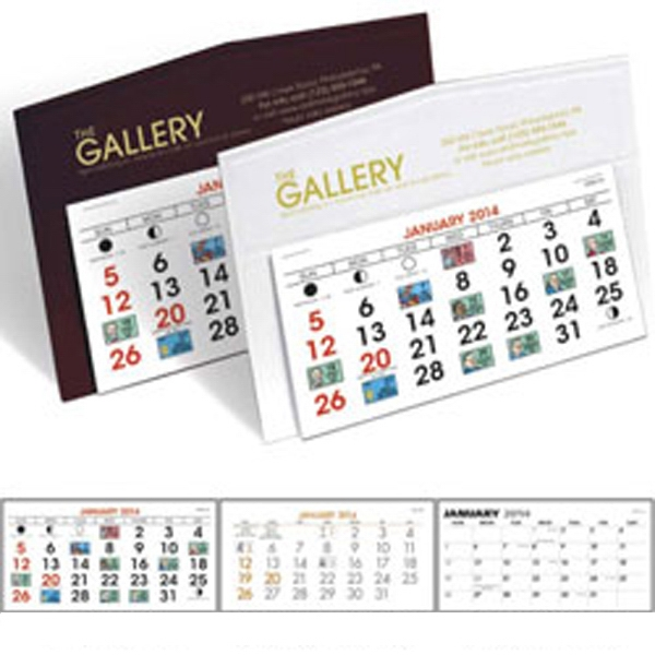 Legacy - 2015 Desk Calendar With Choice Of Mount Color Photo