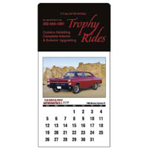 Memorable Muscle - 2015 Stick Up Calendar Featuring Muscle Cars Photo