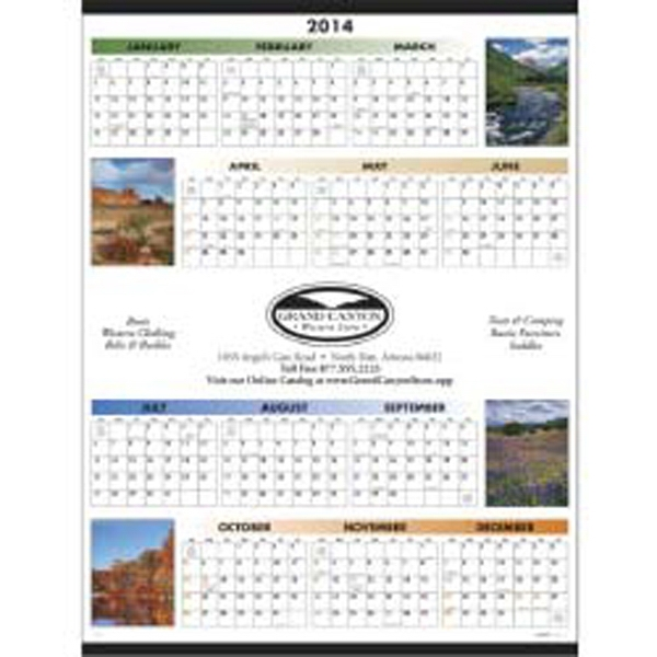 Span-a-year 2015 Calendar With Our Beautiful Scenic Photographs Photo