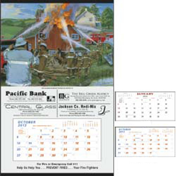 Fire Hanger - 2015 Hanger Calendar With Fire Safety Theme Photo
