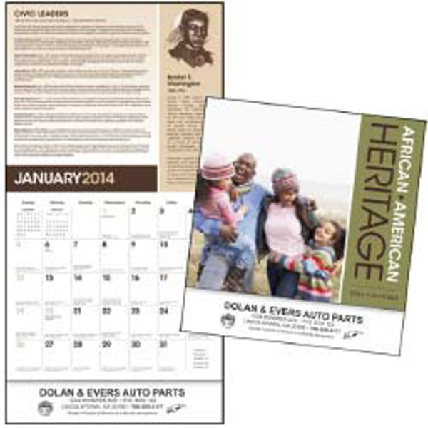 African-american Heritage - 2015 Educational Calendar That Highlights The Accomplishments Of African-americans Photo