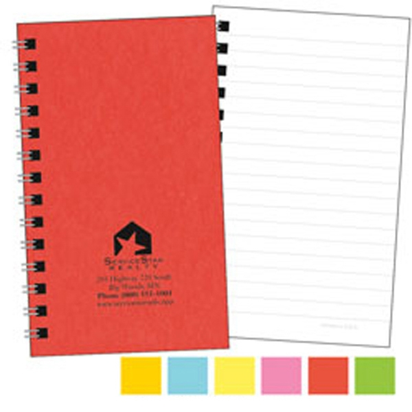 A Colorful, Compact All-purpose Notebook, 100 Pages Photo