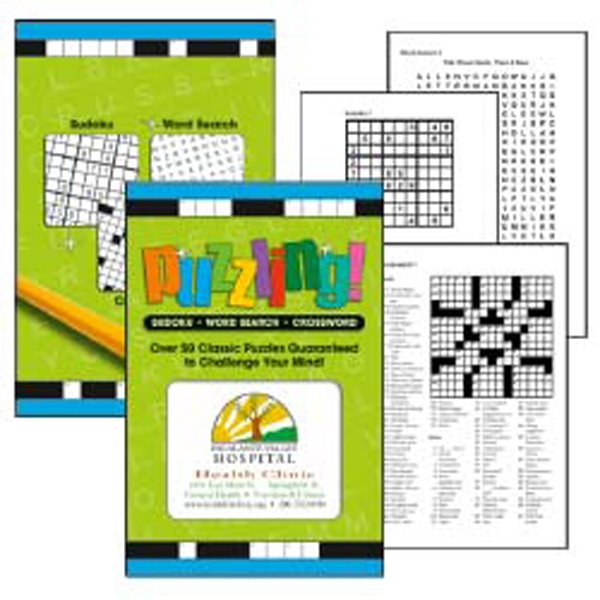 Puzzling! - Puzzle Book. Includes 64 Pages Of Crosswords, Word Searches, And Sudokus Photo