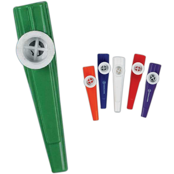 "4 1/4"" Toy Kazoo. Imprinted Photo"