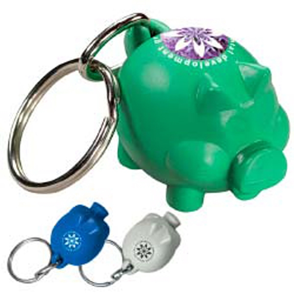 Friendly Bank'r Keytag