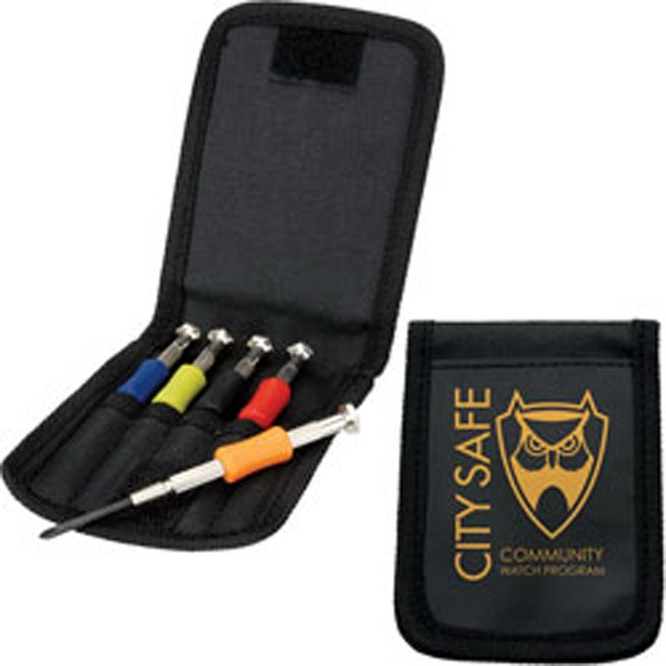 Precision - Screwdriver Set With Colored Handles Photo