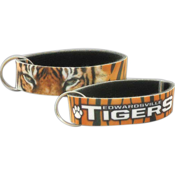 Full Color Wristband with Key Ring