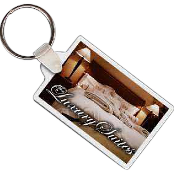 Rectangle 10 - Rectangle Shaped Key Tag Photo