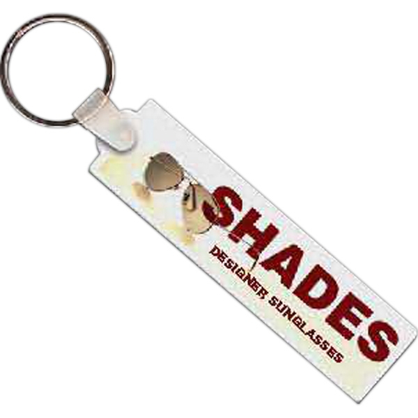 Rectangle 11 - Rectangle Shaped Key Tag Photo