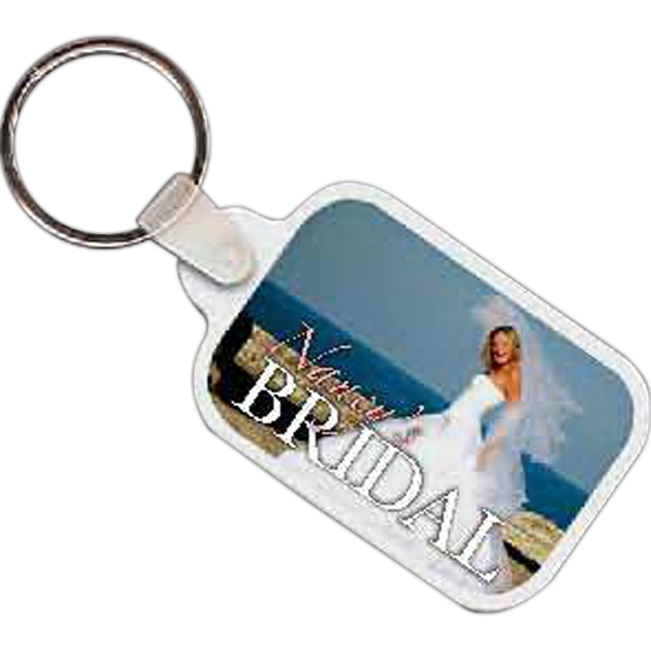 Rectangle 6 - Rectangle Shaped Key Tag Photo