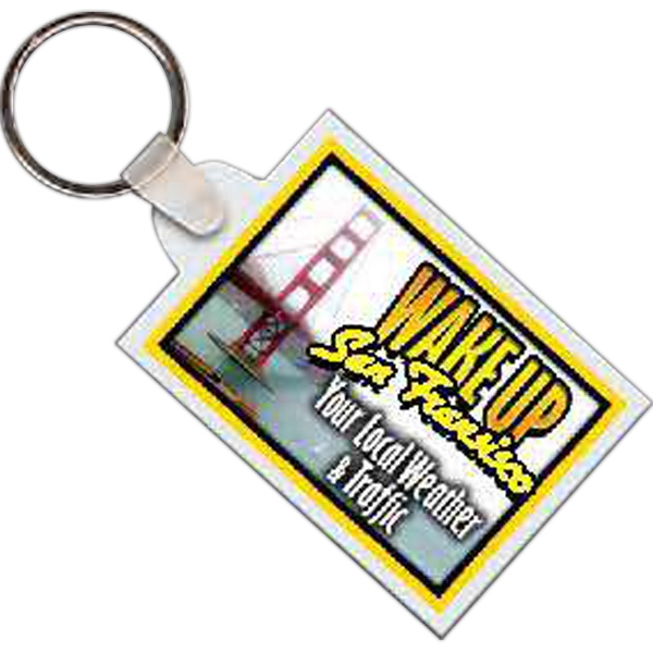 Rectangle 12 - Rectangle Shaped Key Tag Photo