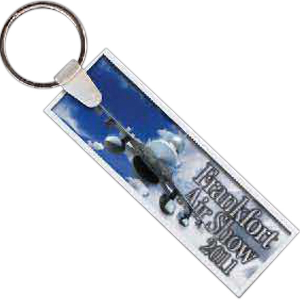 Rectangle 13 - Rectangle Shaped Key Tag Photo