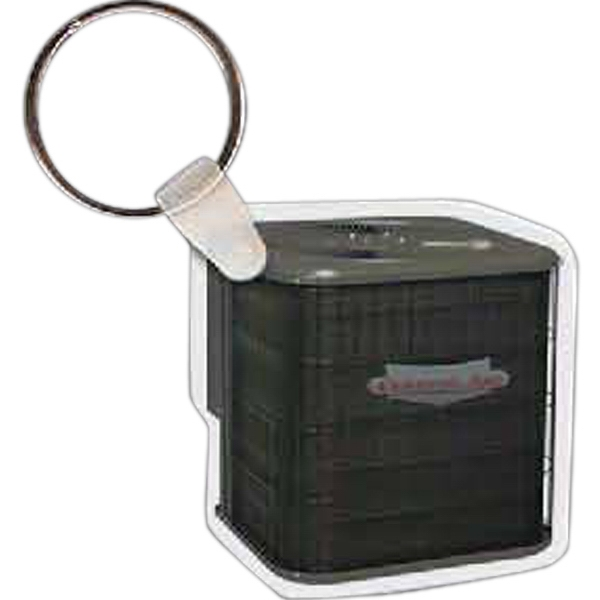 "Air Conditioner Shaped Key Tag, 1.89"" W X 1.9"" H Photo"
