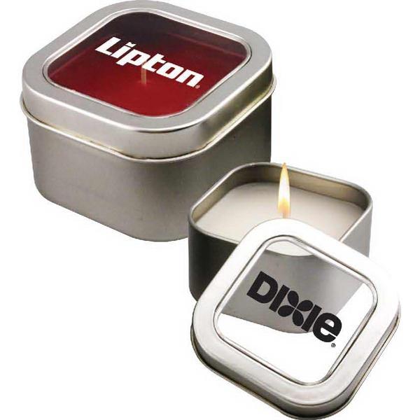 8 oz Aromatherapy Candle in Metal Tin