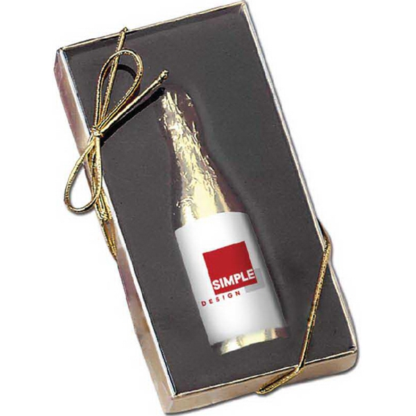 1 oz Chocolate Champaign Bottle in Gift Box