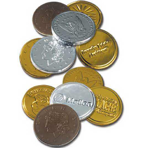 Lincoln - 5-15 Working Days; Standard - Custom Coin - These Treasured Treats Will Richly Reward Any Promotion. Kosher Product Photo