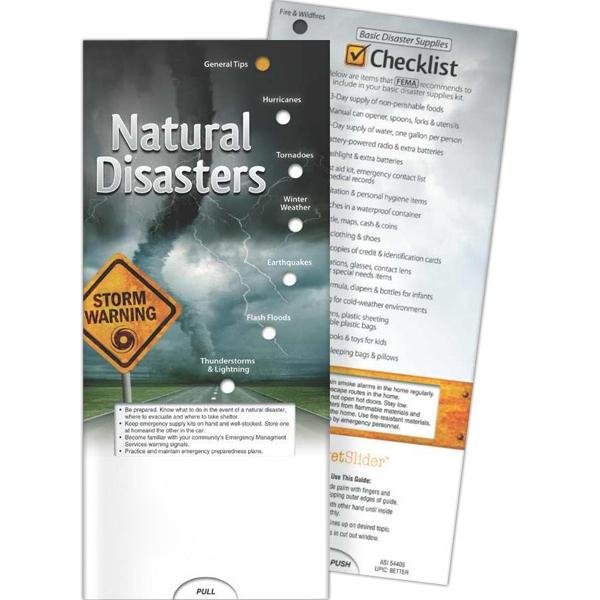 Pocket Slider (TM) - Natural Disasters - Pocket Slider - Natural Disasters