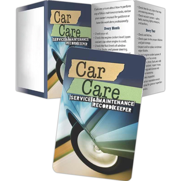 Key Points (tm) - Key Points - Car Care: Service And Maintenance Record Keeper Photo