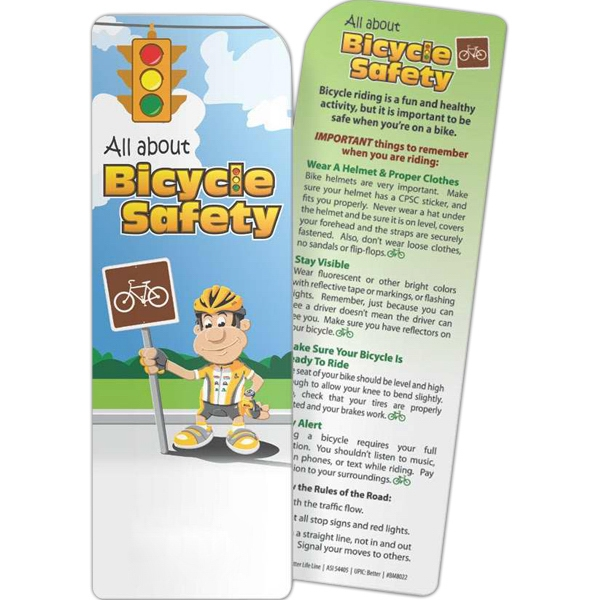 Bookmark - All About Bicycle Safety - Bookmark - All About Bicycle Safety.