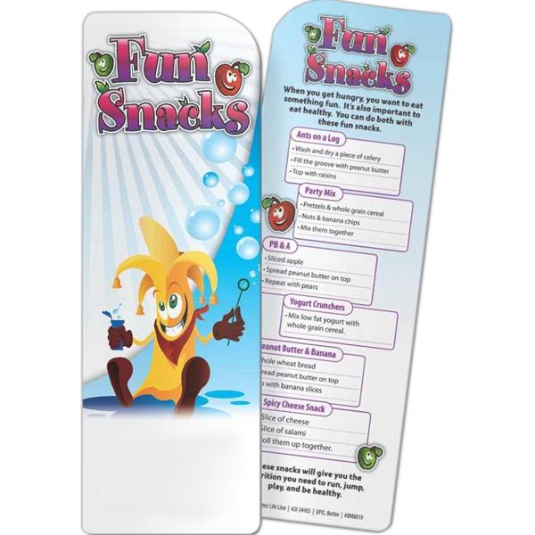 Bookmark - Fun Snacks - Bookmark - Fun Snacks.