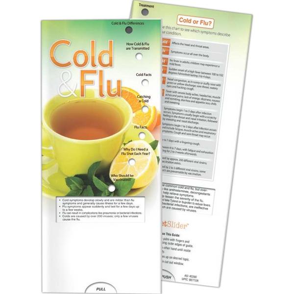Pocket Slider (TM) - Cold and Flu - Pocket Slider - Cold and Flu