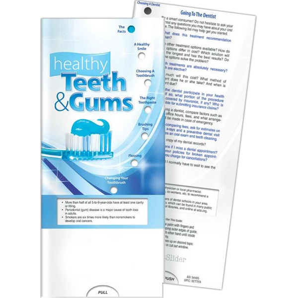 Pocketslider (tm) - Pocket Slider - Healthy Teeth And Gums Photo