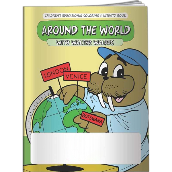Coloring Book - Around the World - Coloring Book - Around the World