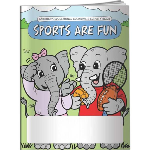 Coloring Book - Sports are Fun - Coloring Book - Sports are Fun