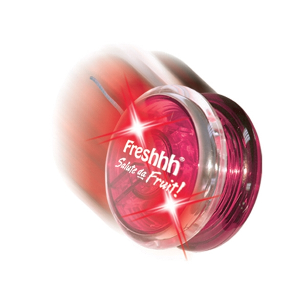 Twirlglo Yo-yoz (tm) - Red/red Leds - Light Up Yo-yo With One Colored Side And One Clear Side Photo