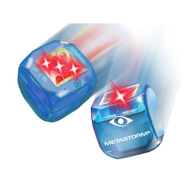Buzdice (tm) - Blue - Electronic Light Up Dice, Tap Or Roll And A Number Is Randomly Selected Photo