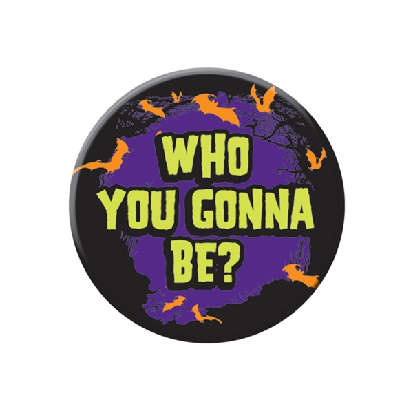 "6"" - Round Celluloid Pinback Button Photo"