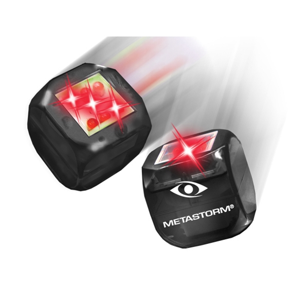 Buzdice (tm) - Black - Electronic Light Up Dice, Tap Or Roll And A Number Is Randomly Selected Photo