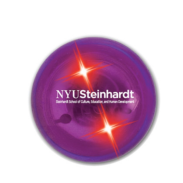 Buzball (tm) - Purple/red Led - Original Bouncing Ball With Bright Led And Outside Imprint Photo