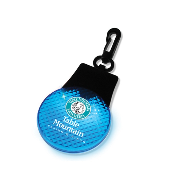 Gostrobe - Blue - Reflector Strobe With Three Ultra Bright Flashing Led's Photo