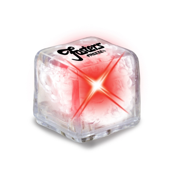 Ultraglow - Clear/red Led - Ice Cube With Color Led Photo