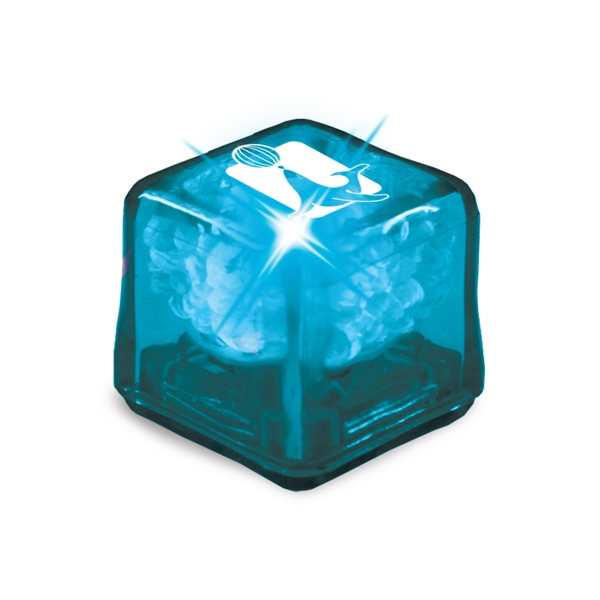 Ultraglow - Blue/blue Led - Ice Cube With Color Led Photo