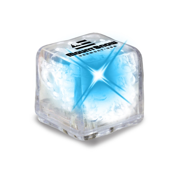 Ultraglow - Clear/blue Led - Ice Cube With Color Led Photo