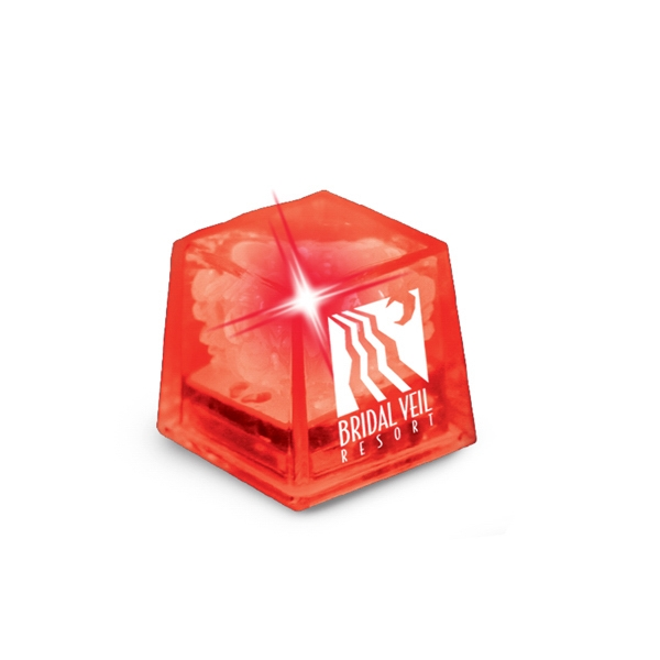 Miniglow - Red/red Led - Ice Cube With Color Led Photo