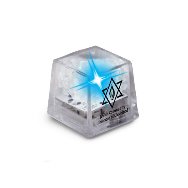 Miniglow - Clear/blue Led - Ice Cube With Color Led Photo