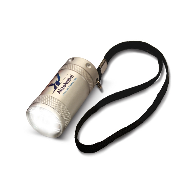 Mini 5 - Silver - 5 Led Flashlight Photo