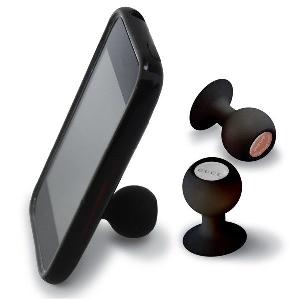 Iball - Black - Suction Cup Phone Stand Photo