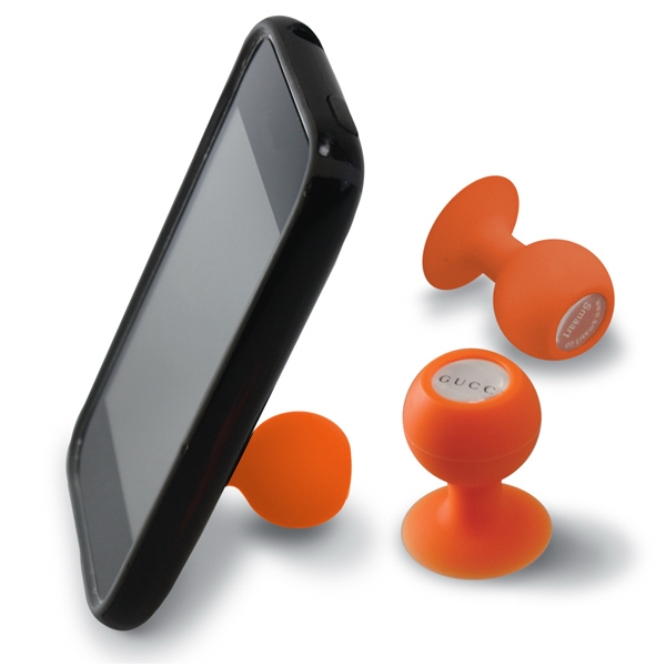 Iball - Orange - Suction Cup Phone Stand Photo