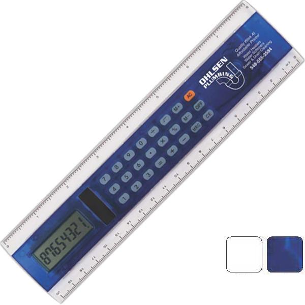 "8"" Calculator Ruler"