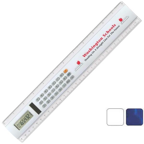"12"" Calculator Ruler"