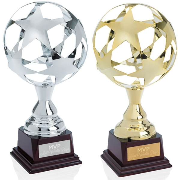 Jaffa (r) Collection All Star - Metallic Sphere Trophy Photo