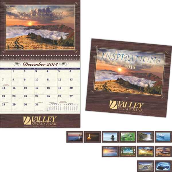 Coronado Collection Inspirations Wall Calendar