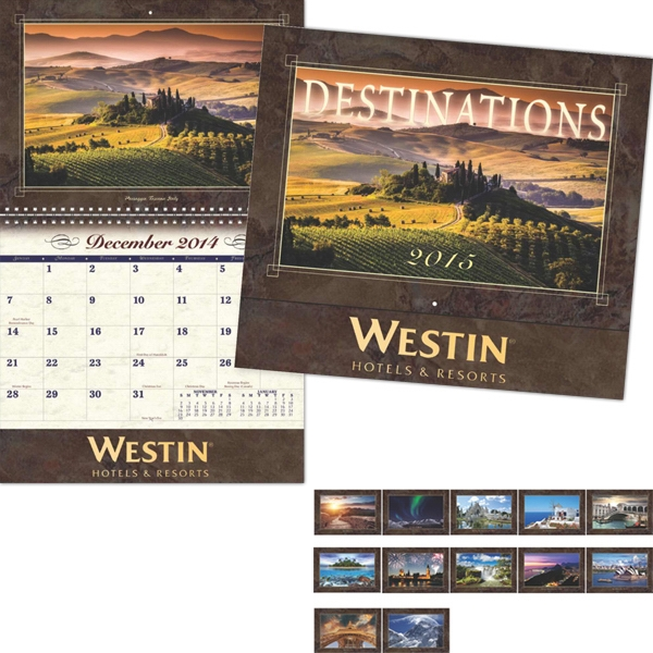Coronado Collection Destinations Wall Calendar