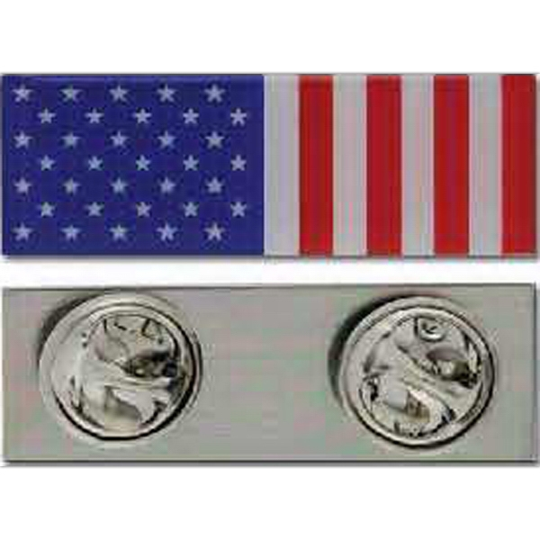 Peace Time - Stock Peace Time American Flag Pin Photo